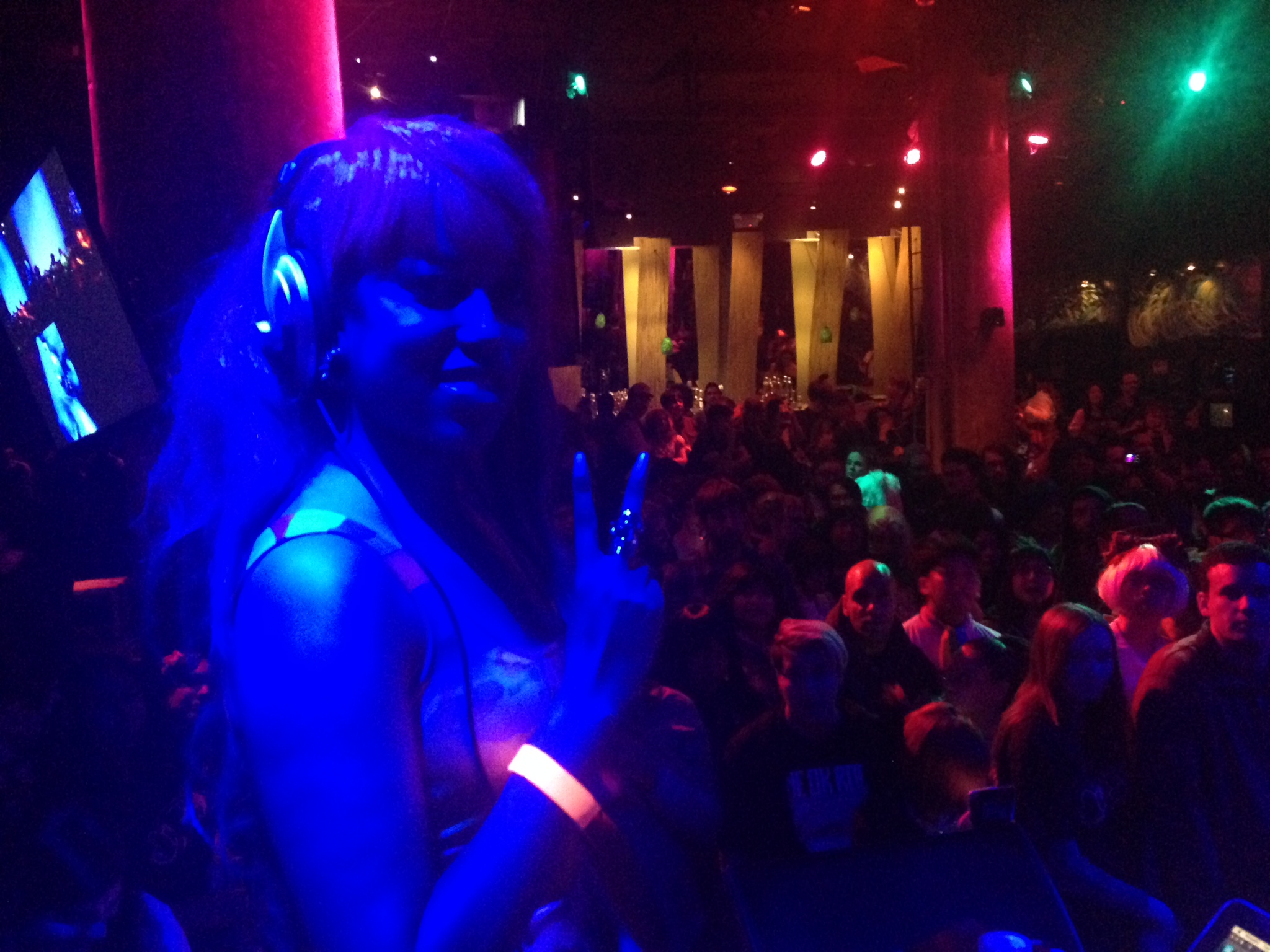 DJ Natasha Jewels live set at SOBs NYC